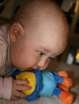 """Vor allem kleine Kinder nehmen Spielzeug oft in den Mund. Laut """"Öko-Test"""" ..."""